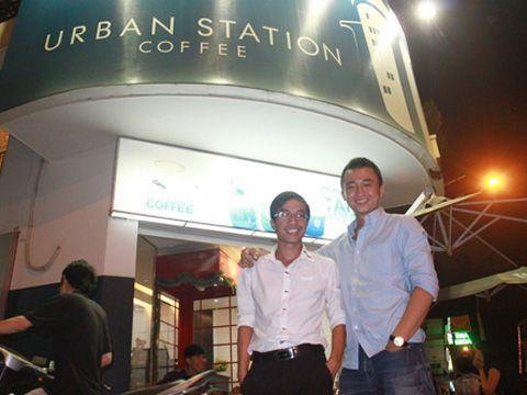 Chàng trai bán cà phê của Urban Station